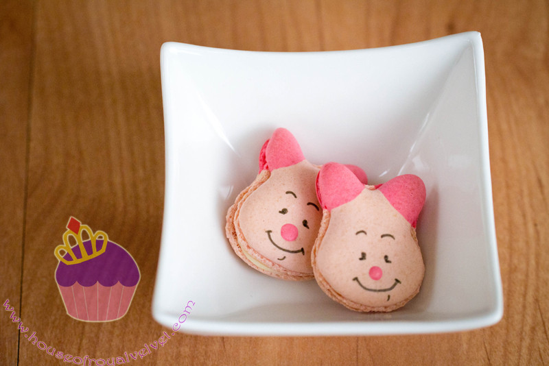 piglet macarons
