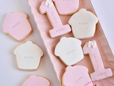 Number 1 & Cupcake Cookies