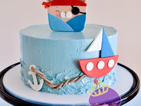 Pirate Teddy Cake