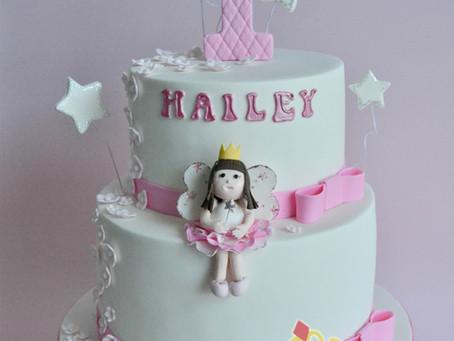 1st Birthday Cake for Hailey