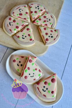 pizza cookies