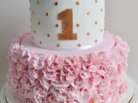 Ruffle Cake for Penelope