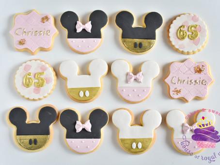 Mickey Minnie Cookies