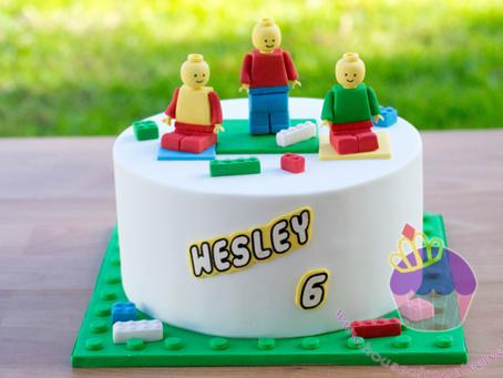 Lego Cake for Wesley