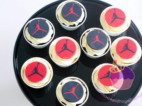 Michael Jordan Cupcakes for Jairus