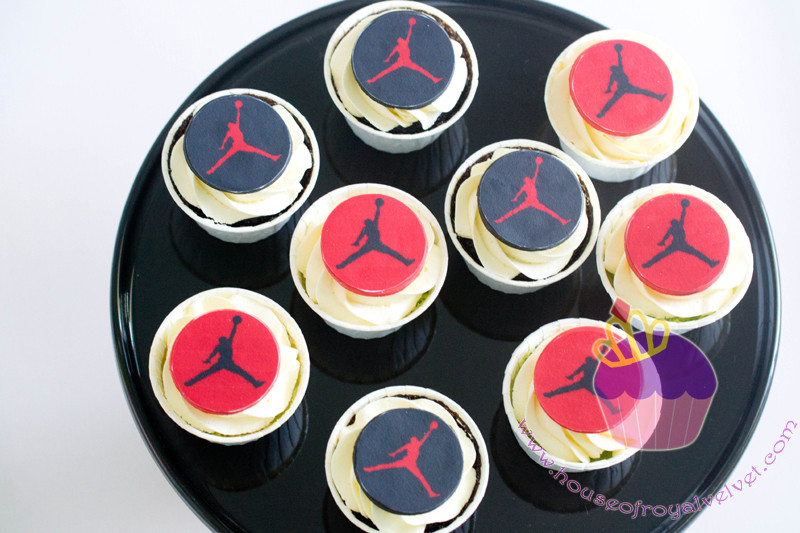 michael jordan cupcakes