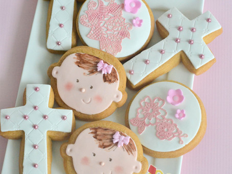Baptism Cookies for Amira