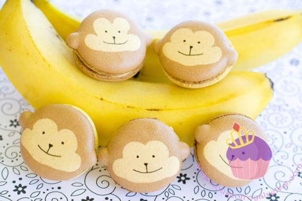 monkey macarons
