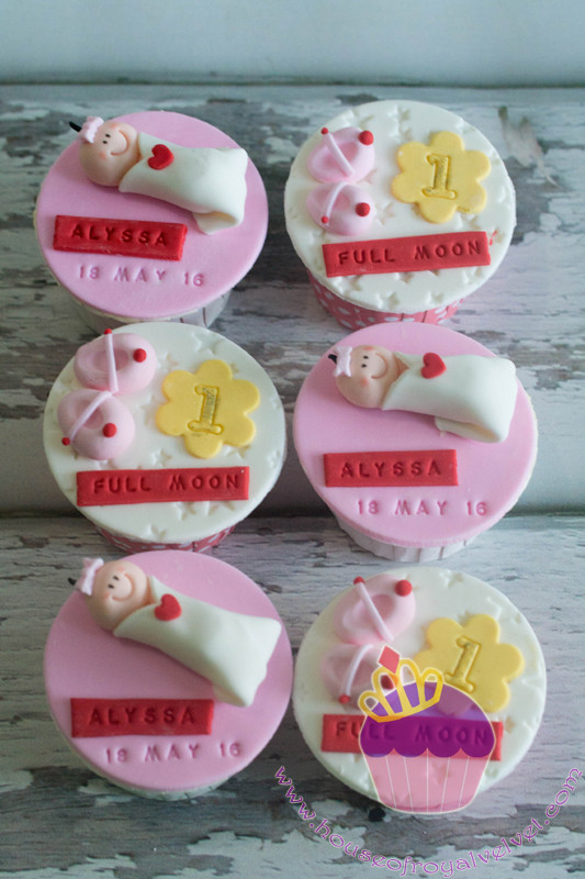 full month cupcakes