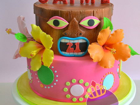 Tiki Cake for Jaime