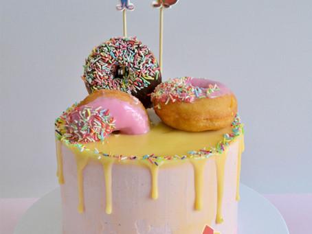 Donut Cake for Angela
