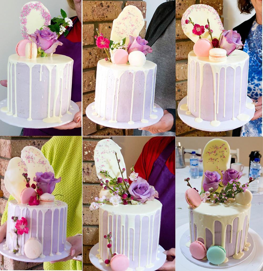 perth cake decorating class