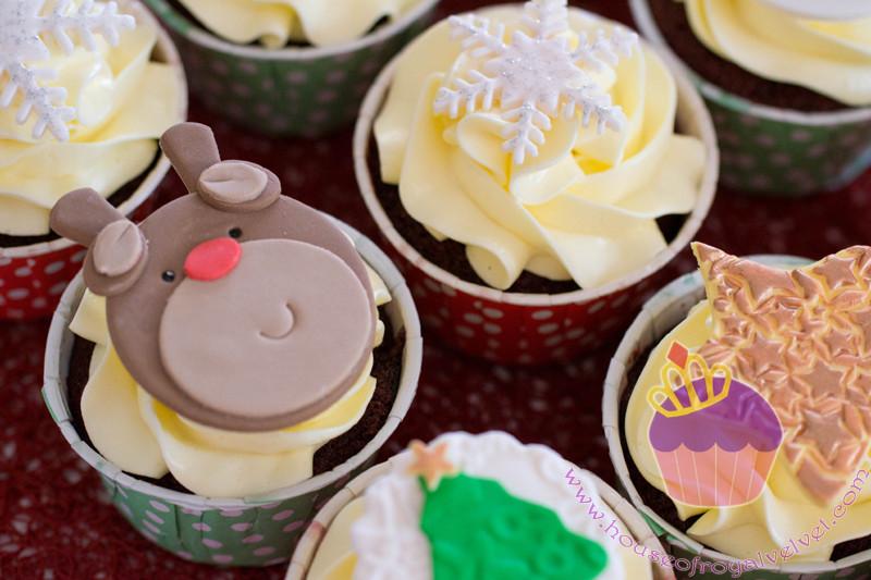 reinder cupcake