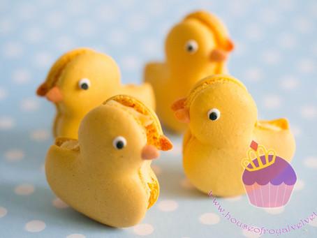 Duck Macarons for Benjamin