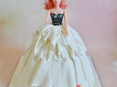 Barbie Cake for Jillian