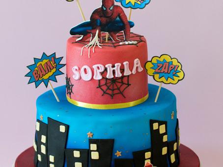 Spiderman Cake for Sophia