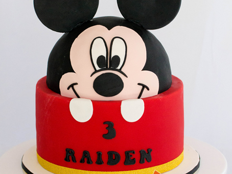Mickey Mouse Cake for Raiden