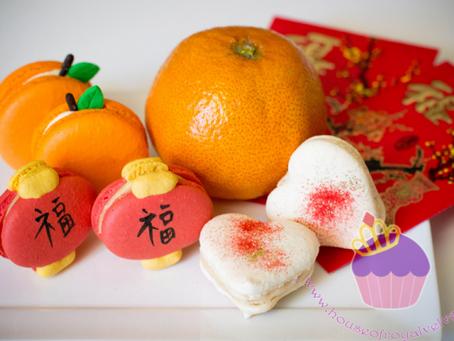 Chinese New Year Macarons 2013 ~ customised macarons