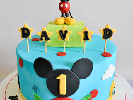 Mickey Mouse Cake for David