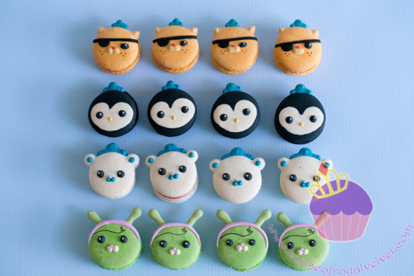 octonauts macarons