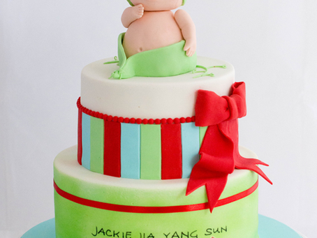Full Month Cake for Jackie