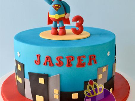 Superman Cake for Jasper