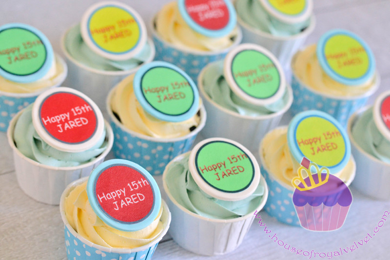 edible images cupcakes