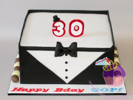 Tuxedo Cake for Gopi