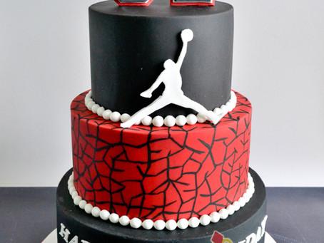 Michael Jordan Cake for Jairus