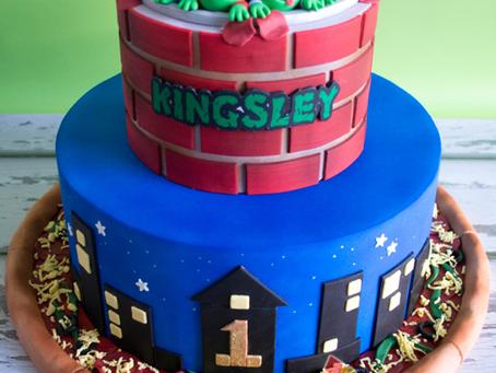 Ninja Turtles Cake for Kingsley