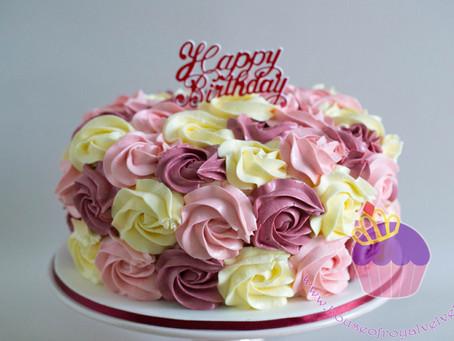 Rosettes Cake for Jessica