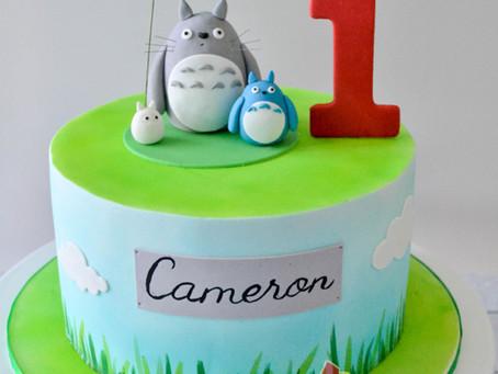 Totoro Cake for Cameron