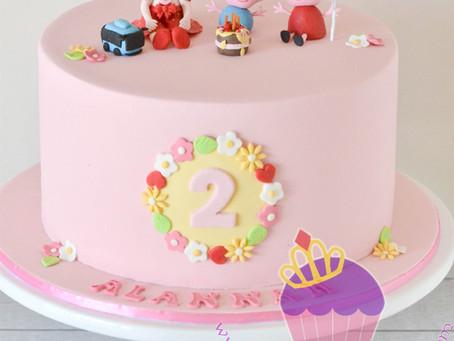Peppa Pig Cake for Alannah