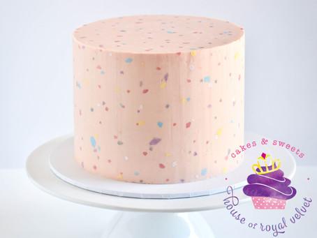 Terazzo Cake