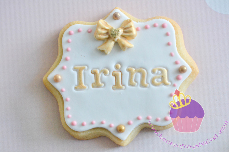 plaque cookies