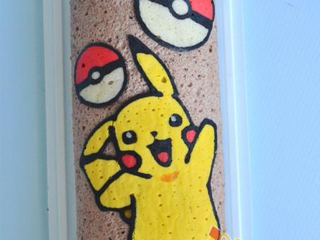 Pokemon Decoroll Cake