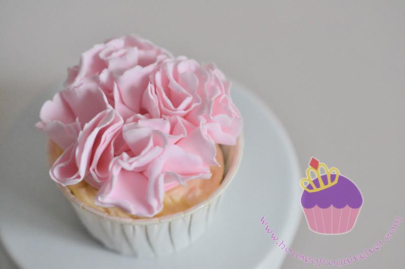 ruffle cupcake