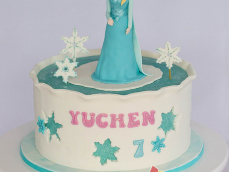 Frozen Cake for Yuchen