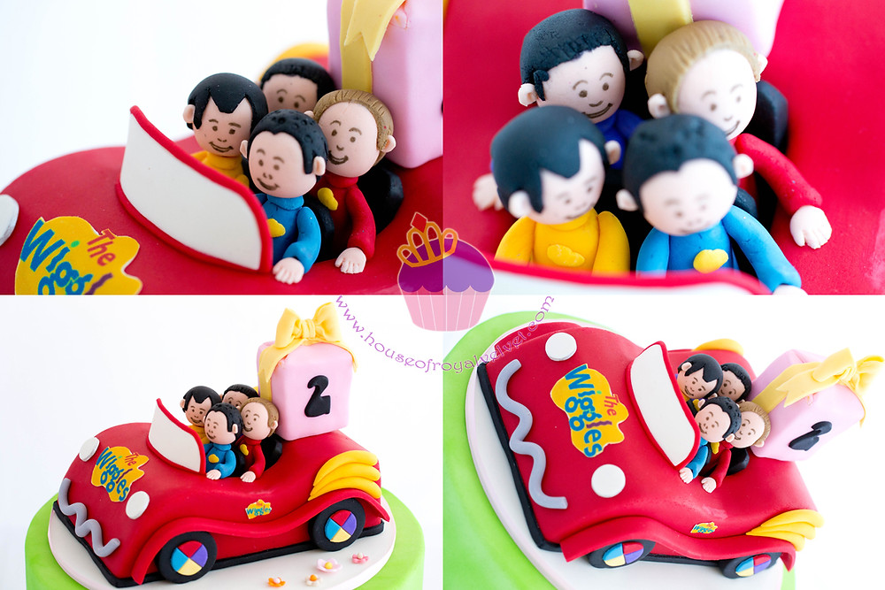 the wiggles cake