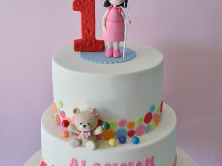 1st Birthday Cake for Alannah
