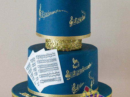 Music Cake for Ann