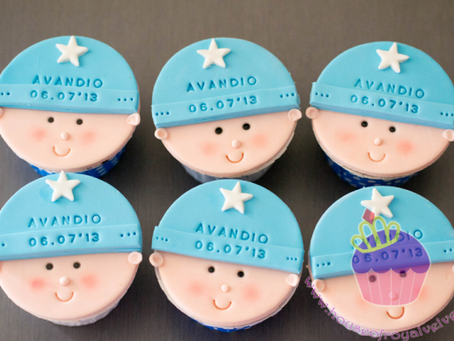 Full Month Cupcakes for Avandio