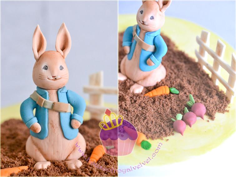 fondant peter rabbit