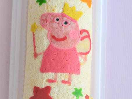 Peppa Pig Decoroll Cake