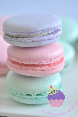 candy macarons