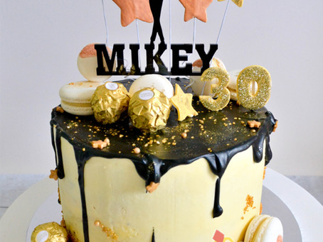 Michael Jackson Cake for Mikey