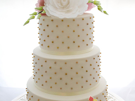 Wedding Cake for Mei & Daniel