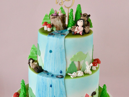 Forest Themed Cake for Jadyne