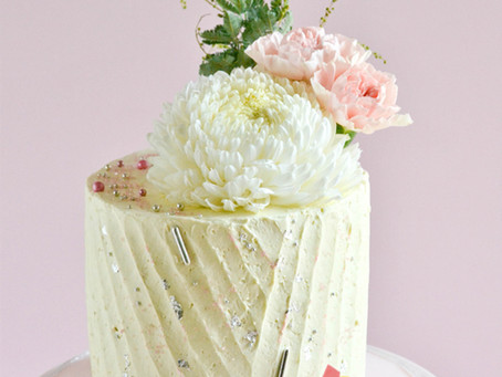 Pleat Buttercream Cake