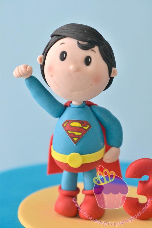 fondant superman